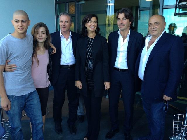 La presidente della camera dei deputati laura boldrini in for Presidente camera dei deputati 2013