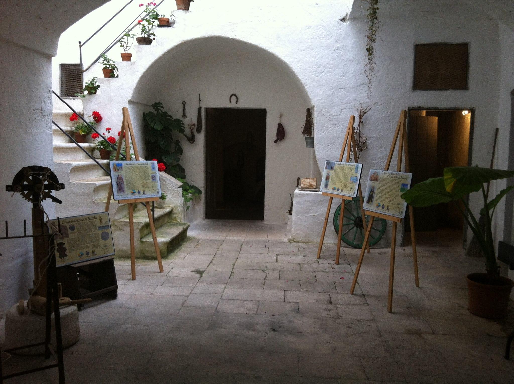 Museo della casa alla fasanese garantita l 39 apertura estiva for Planimetrie della casa estiva