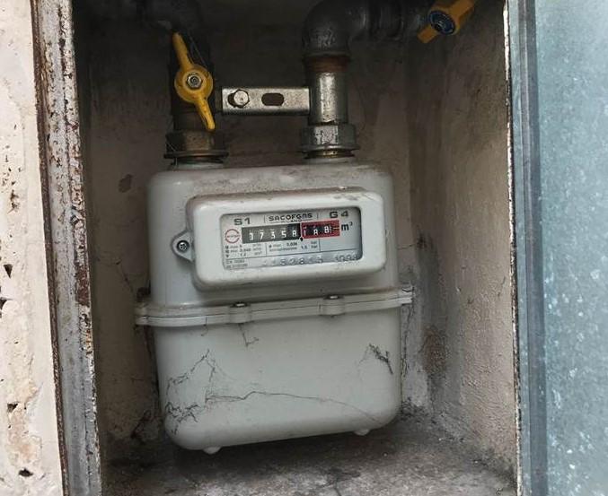 Manomette contatore del gas denunciata fasanese per furto for Taroccare contatore gas metano