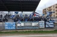 Tifosi biancazzurri a Triggiano