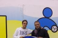 Graziano Tumbarello con il presidente Francesco Renna