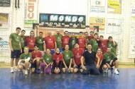 Le squadre Amicici e CCCP del torneo pallamanistico