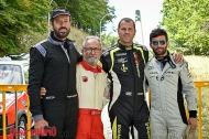 i quattro piloti fasanesi impegnati alla Rieti Terminillo (foto Gianluca Gali�)