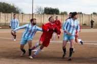 Una fase del derby tra Atletico Pezze e Virtus Montalbano