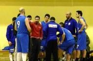 Coach Ciccio Colucci durante un time out (foto mediapulia)