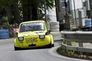 Vincenzo Pezzolla su Fiat 126 Asso Minicar 700