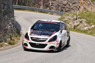Ivan Pezzolla su Opel Corsa OPC (foto Gianluca Gali�)