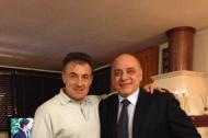 Jean Alesi e Lello Di Bari
