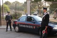 Carabinieri in posto di blocco