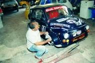 �Pasqualone� Guarini, carrozziere e pilota di lungo corso, padre di Francesco e Quirico, anch�essi conduttori di auto da corsa.