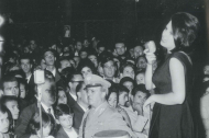 Il concerto di Mina alla Casina Municipale il 6 agosto 1963