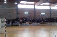I tifosi biancazzurri a Noci nell'ultima finale di Coppa Italia