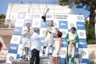 il podio della 55� Coppa Selva di Fasano