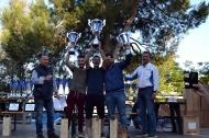 il podio della classifica assoluta (foto Giuditta Lamarina)