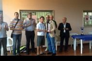 La premiazione di Tramontano a Putignano