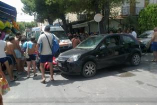 Le auto coinvolte (foto Annarita Casale)