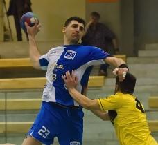 Beharevic nella semifinale contro il Conversano (foto www.figh.it)
