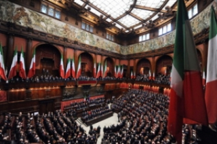 Tutte le liste pugliesi in corsa per la camera e il senato for Composizione parlamento italiano