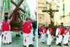 Mattina del Venerd� Santo: Cristo portante la Croce e Cristo spirante (Confraternita del SS. Sacramento). (Fotoservizio ClickFoto)