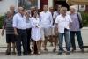 Spettatori-politici in piazza Foto Giuseppe Carrone